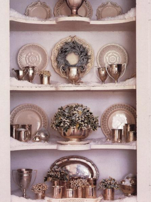 Holiday Inspiration:  Decorating with Vintage Silver!