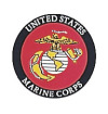 MARINE CORP DECAL COME CARDED. FACE-GUM. 1678 ROTHCO MARINE CORP DECAL.