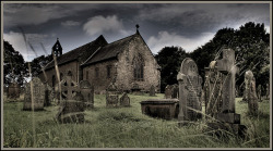 St Mary's Church, Gosforth, Cumbria. (by Pete Carroll)