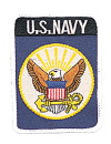 U.S. NAVY EAGLE PATCH 1551 ROTHCO U.S. NAVY EAGLE PATCH.