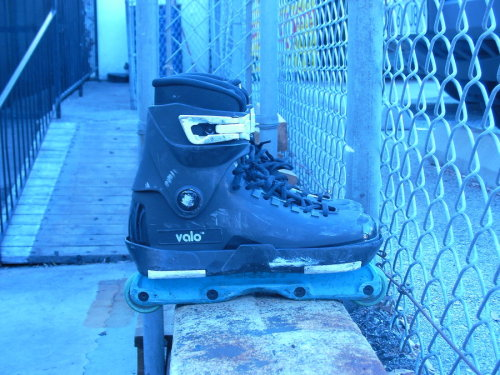 my very own skates