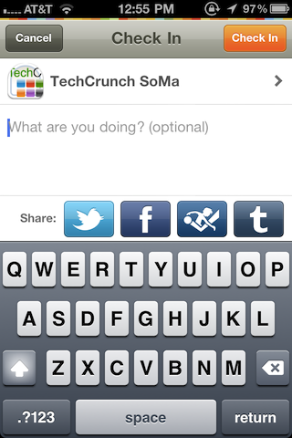 Gowalla 3.0 Unifies Check-Ins, Places With Facebook, Twitter, And Yes, Foursquare  The location-based service has decided to fundamentally altered their app to allow you to check-in to not only their service, but also into Facebook's and even Foursquare's as well. Yes, they've just become compatible with their chief rivals.