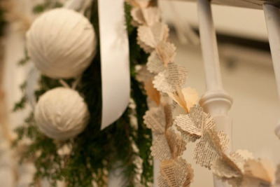 more sweet eco decor for the holidays!