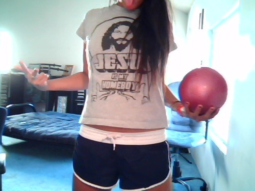 My homeboy Jesus says workout because you can!