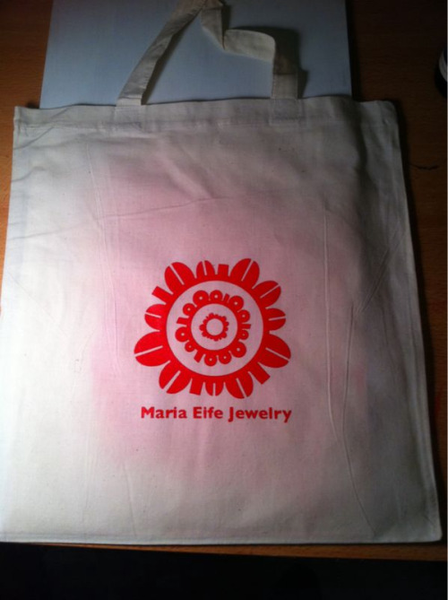 Totes for the Martha Stewart Holiday Craft Sale..
