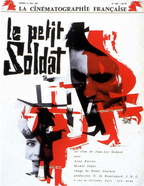Le Petit Soldat Jean-Luc Godard turns 80 today.