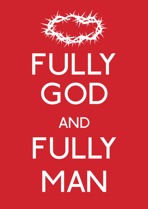 Fully God and fully man