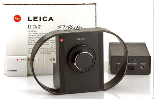 ilovemyleica:  1996 Leica S1 Pro (first digital camera made by Leica)