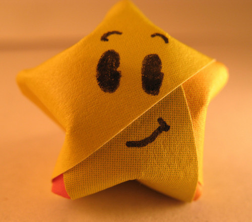 SMILEY STAR TO ALL OF US TONIGHT! (: