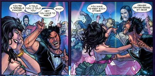 [pt 5] Remember when Wolverine got drunk off some g+t's and danced to Glee remixes in the village alllll night long? NEITHER DOES HE OMG HE WAS SOOO DRUNK LOL from Wolverine: The Best There Is #1, drawn by Juan Jose Ryp