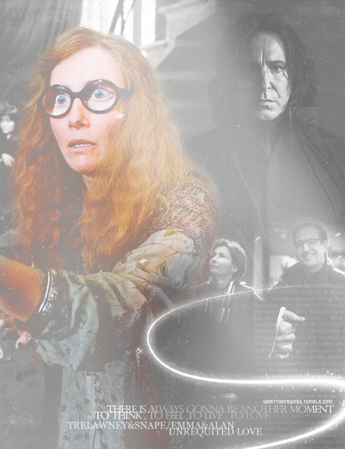 Trelawney&Snape/Alan&Emma - Unrequited Love