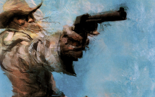 videogamenostalgia:  Revolver Ocelot - by Ashley Wood (via: svalts)
