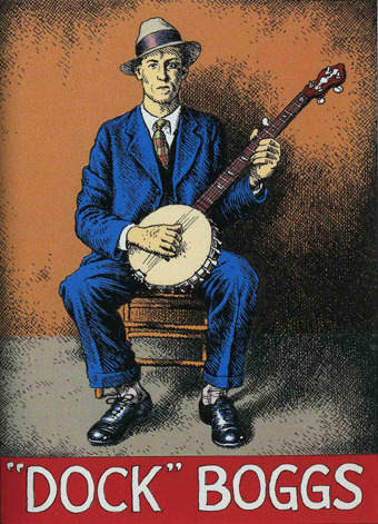from R. Crumb's Pioneers of Country Music card set