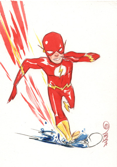 animaexnihilo:  The Flash by Dustin Nguyen  wow the highlights