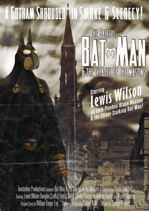Batman Steam-punk Posters  schweeeeet