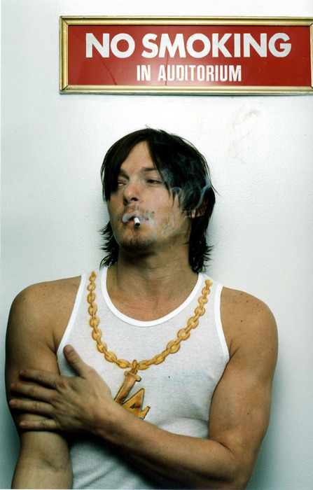 The Walking Dead's Norman Reedus.