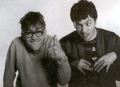gasstation:  Graham Coxon and Damon Albarn