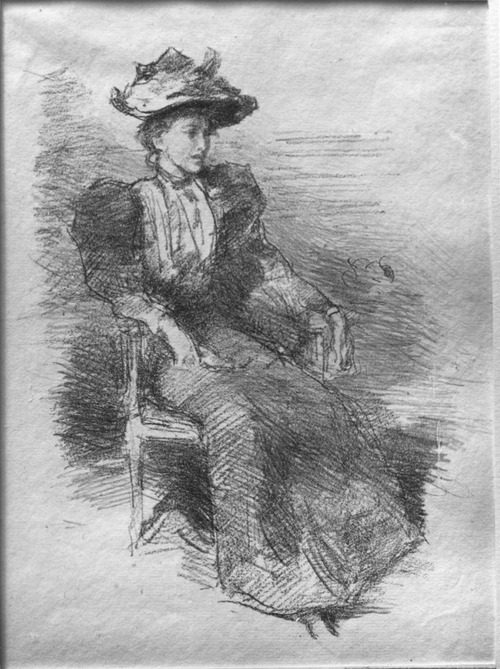 A Portrait: Mildred Howells (c. 1894-1896) by James McNeill Whistler.