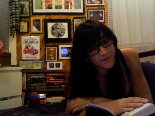 haha this is how i spent friday night.. as a bookworm!