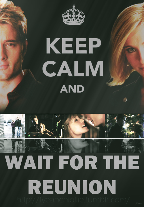 fyeahchlollie:  Keep Calm and…. #Smallville #Chlollie #fanart