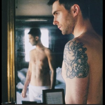 maroon5fans:  This might just become a tradition. A sexy picture of Adam for every period of inactivity. xD Though I have figured out the queue thing now, so hopefully things will be a bit more consistent from here on out.
