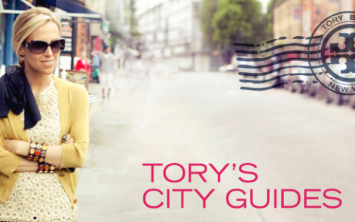 Tory Burch's City Guide