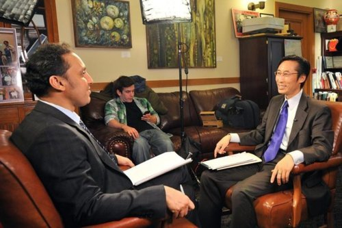 "Eric Mar is about to go on The Daily Show and become a national joke. He is the author of San Francisco's ban on Happy Meals. Because the ban lies at the intersection of San Francisco, politics and pop culture, and because it coincides with the holidays, I'll be stuck defending Eric Mar to my relatives. I hate Eric Mar. But first, a quick thought experiment: Imagine a world where children are allowed to eat whatever they want. Imagine there are no parents. Predict the medical consequences of such a world. Now compare your imagined world with the actual world we live in. HOW IS THIS COUNTERFACTUAL DIFFERENT FROM WHAT WE HAVE RIGHT NOW? Forget the future, look around. 1 in 5 kids are obese. Not fat, not ""Could lose a few."" Obese. So are their parents. Please see step #2.  I've lost you, haven't I? Let's try something else. Have you ever seen the popular television series Mad Men? Often, the show will feature a practice which seems backward or primitive by today's standards. For example, a doctor will be smoking while giving a woman a pelvic exam. Most viewers think, ""I can't believe they were allowed to do that back then!"" Eventually they banned smoking during pelvic exams.  You're the one who made fun of the ban."