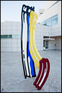 Lichtenstein at the Getty Center, November 2010.