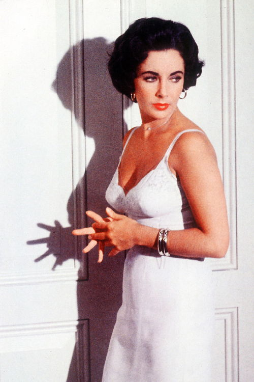 "Elizabeth Taylor in ""Cat on a Hot Tin Roof"" 1958"