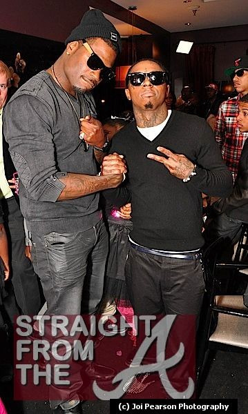 Lil Wayne & Memphitz [sidebar: I wonder if my ex & my next would pose for a pic?]