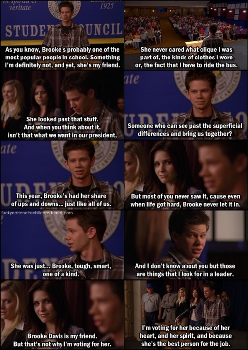 One Tree Hill 2x14 Quiet Things That No One Ever Knows