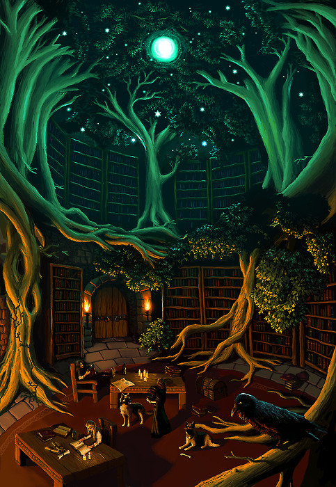 Fantasy Library - via lsdex.ru
