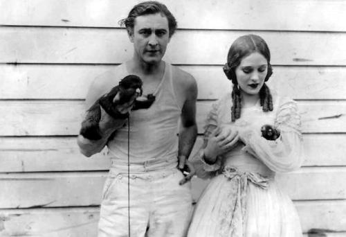John Barrymore, Dolores Costello and their co-stars The Sea Beast - (1926)
