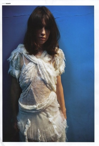 Lula winter edition Charlotte Gainsbourg in Rodarte