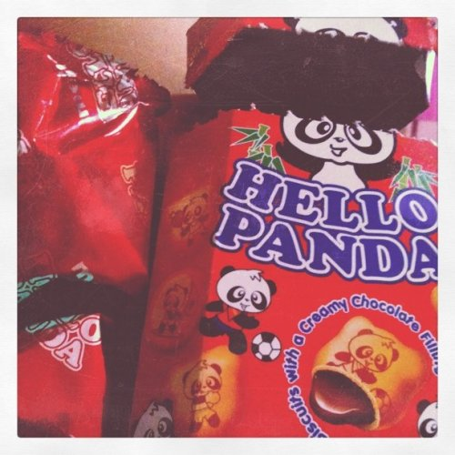 Hello Panda  (Taken with Instagram at Blk 713 Ang Mo Kio)