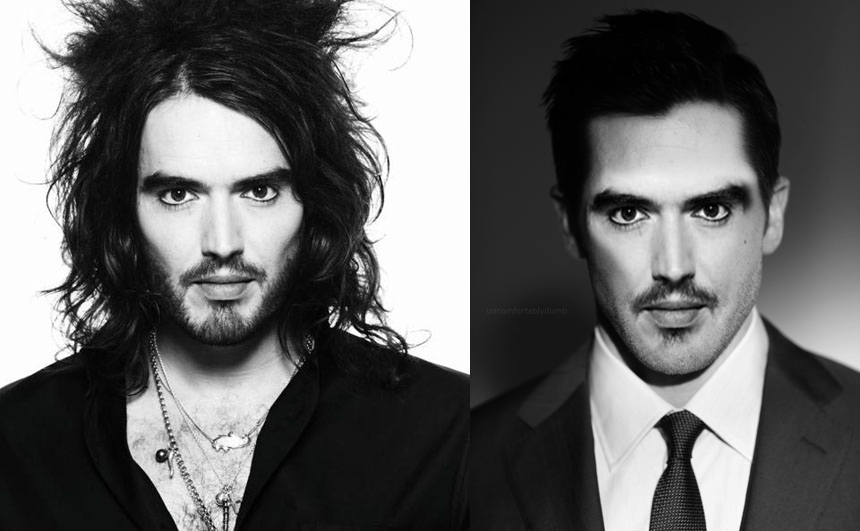 Uncomfortablydumb Russell Brand With Short Hair