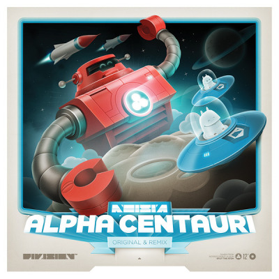 "freevo:  Noisia - Alpha Centauri 12"":  Noisia consists of three talented guys from Groningen. the Netherlands, and are established producers of electronic music. Alpha Centauri is the third single taken from their debut album Split the Atom."