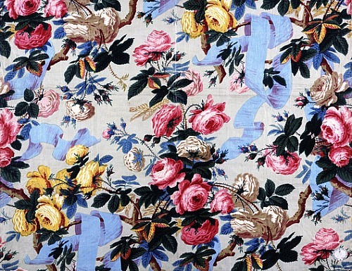 Unknown (Lancashire, England) Furnishing Fabric Print 1850