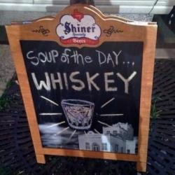 the only soup of the day