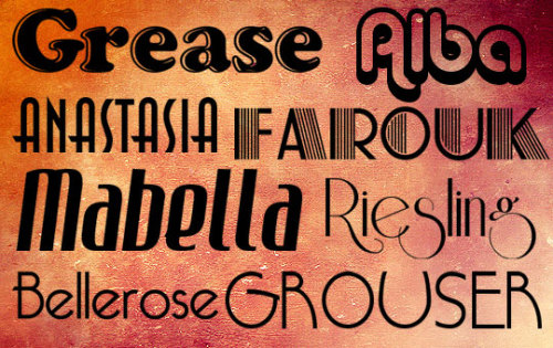 Free Retro Fonts – Bring Refinement and Nobility into Your Design If you need to impress people with the richness and elegance of your design – you can easily achieve this by using free retro font from our today's collection. This type of computer fonts feature splendid characteristics – the lines of retro fonts are so accurately and deliberately drawn by a hand of a skillful font designer, that the attractiveness of such typefaces only increases over time, like the value of a good old wine. Eye-catching shapes, sophisticated lines and serifs, well-balanced proportions – all these create the bright and clear atmosphere of classic aesthetics cult, which dominated in art centuries ago.