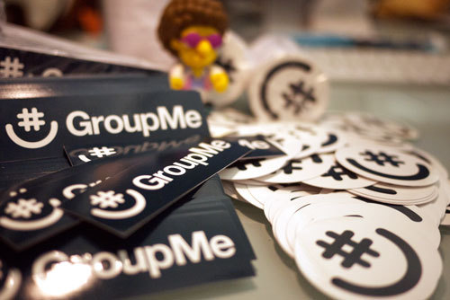 Thousands of awesome new GroupMe stickers just landed in our office! Keep an eye out for them in the wild—you never know where they're going to pop up.    If you want a few to help us spread the word, we'd love to send you some. Here's how to get them.    FREE STICKER INSTRUCTIONS:    1. Share this post. (Reblog, retweet, share to facebook, show it to a friend, email it, shout it from the rooftops…)    2. Send an email to spillman@groupme.com with your address. Tell us how you shared the good news about GroupMe stickers.    3. Receive stickers in the mail! We'll ship them anywhere in the US.    We can't wait to see where these turn up. Get going! And keep using GroupMe.