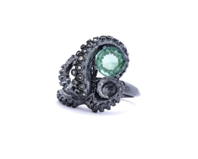 Tentacle Ring via bleedingheartcannibalismadvocate