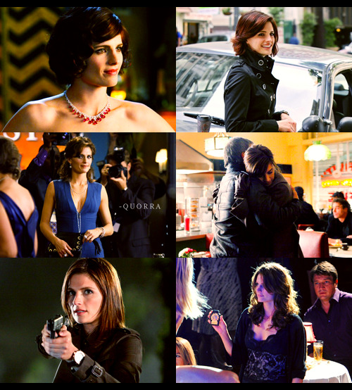 "court asked: favourite ""castle"" character.  detective kate beckett"