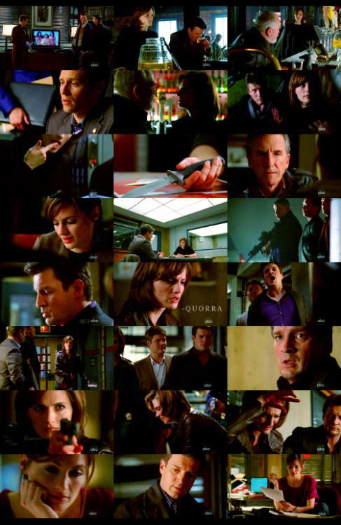 "court asked: favourite episode of ""castle"".  2x13 - sucker punch"
