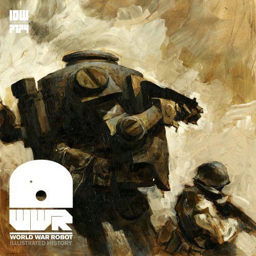 I ran across Ashley Wood's World War Robot graphic novel last night at the bookstore and it's quite a visual stimulant. Ashley is a comic book artist and illustrator and to describe his work as being 'badass' would be an understatement. Here's the official synopsis for World War Robot…  Award-winning designer/artist Ashley Wood (Popbot, Zombies Vs. Robots) has handled his share of robots over the years. And now, he presents total robot war! In World War Robot, a dwindling band of humans and robots face off in a battle that will likely end humanity as we know it – on Earth, on the Moon, and on Mars, too! Badass battles, really intense human/robot drama, and even a little black humor and political intrigue are the order of the day in this oversize, standalone epic courtesy of Wood. Source: Rama's Screen »  World War Robot website » Logo by Tom Muller »