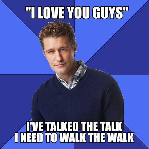 Filed under glee will schuester pedowill