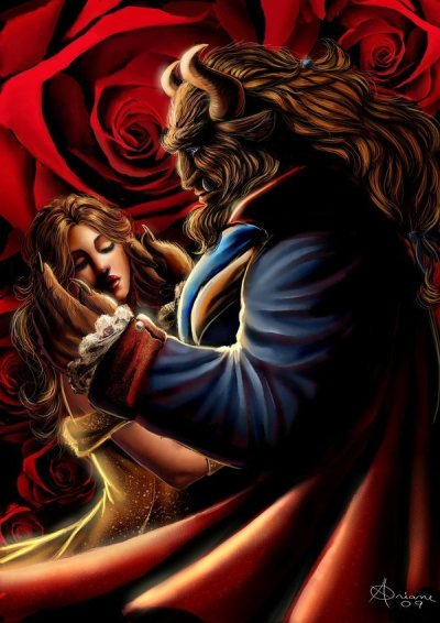 steamboatwillie:  Another gorgeous Beauty and the Beast fan art
