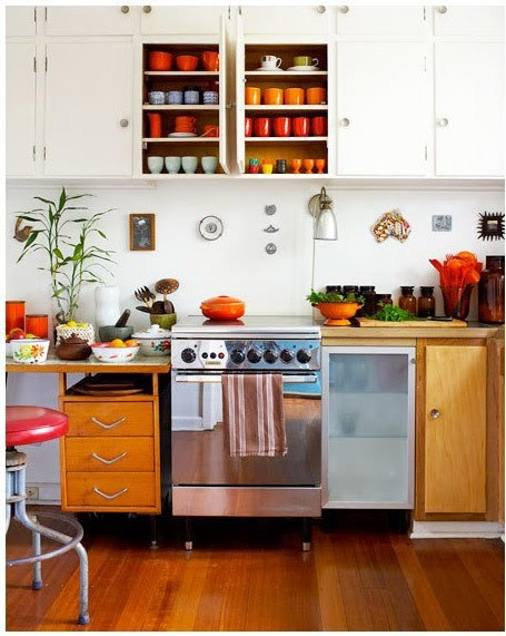 myidealhome:  colourful kitchen