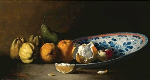 Germain Ribot Still Life with Fruit 19th century