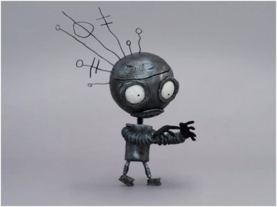 pacalin:  Robot - by Tim Burton via: Ken Turner | Superpunch